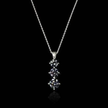 Pendentif diamant noir...