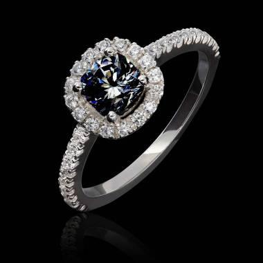 Bague diamant noir Alice
