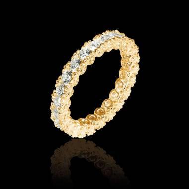 木星 K金结婚对戒 镶嵌钻石