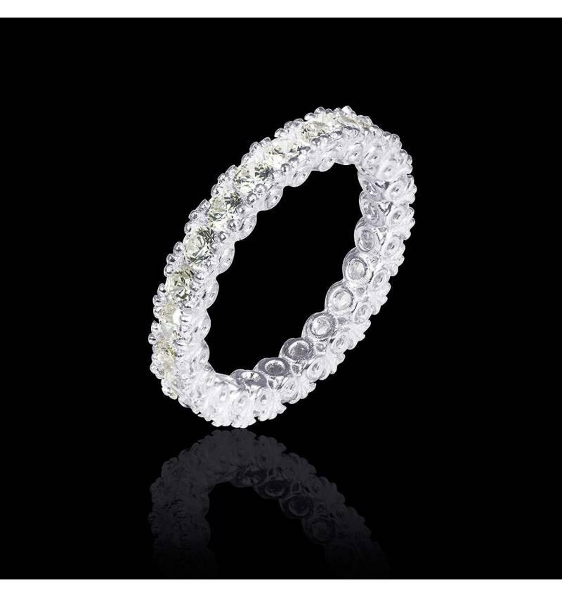 木星铂金结婚对戒 镶嵌钻石