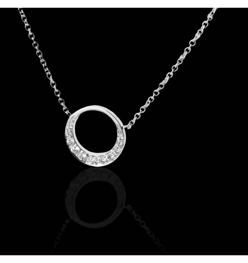 月光红宝石项链