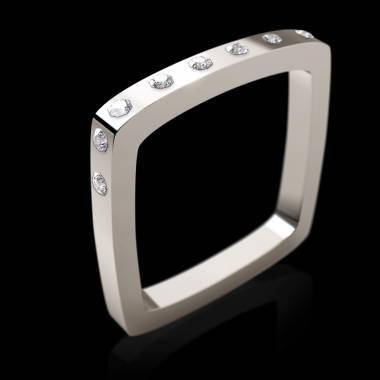 Square钻石戒指