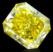 黄色合成钻石